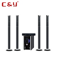 5.1 multimedia home theater speaker system with bluetooth factory outlet