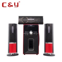 C&Y 3310 3.1 CH home theater surround sound speaker system with bluetooth FM USB/SD input