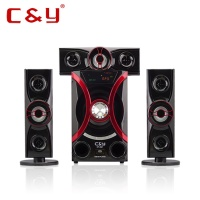 C&Y A21 3.1 multimedia speaker subwoofer with SD USB FM Bluetooth
