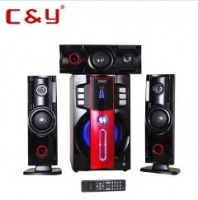 C&Y D3 3.1 speaker woofer big power home theater sound system