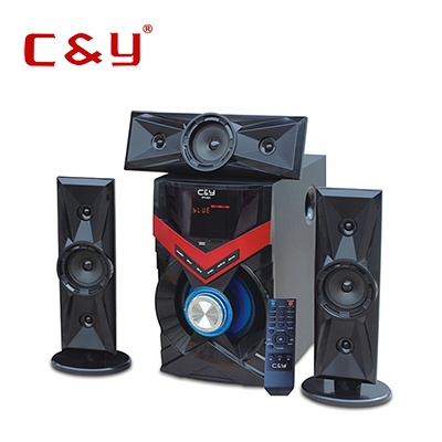 bluetooth speaker system with subwoofer