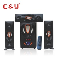 Active stereo speakers subwoofer system for home A65